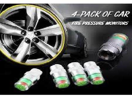 Tire Pressure Monitor Valve Cap
