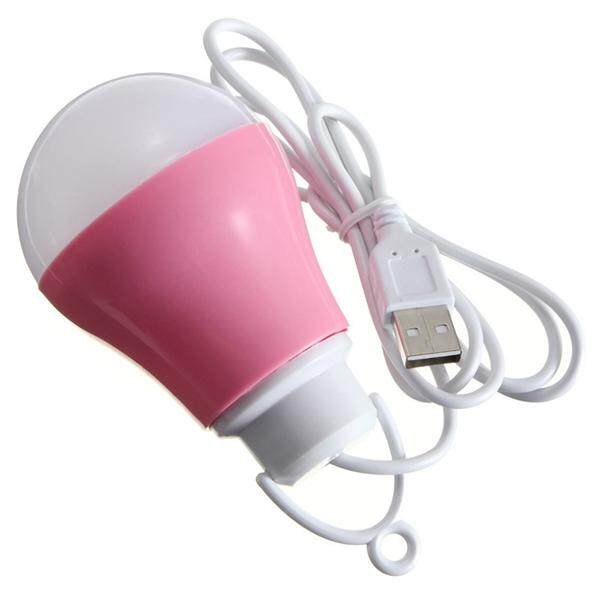 USB LED BULB SMALL DESK LAMP BULB WHITE LIGHT OUTDOOR CAMPING EMERGENCY Malaysia