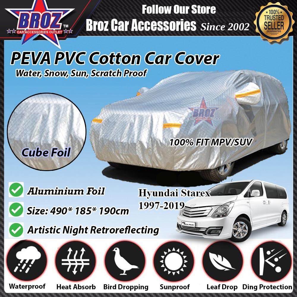 Starex Car Body Cover PEVA PVC Cotton Aluminium Foil Double Layers - MPV 2