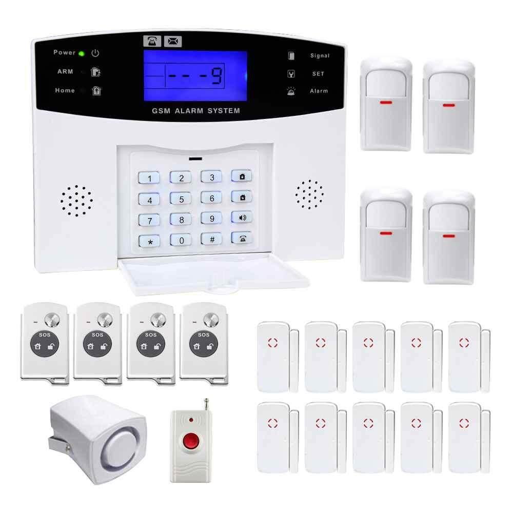 LITAO YA-500-GSM-22 Wireless GSM Security Home Burglar Alarm System Convenient - intl