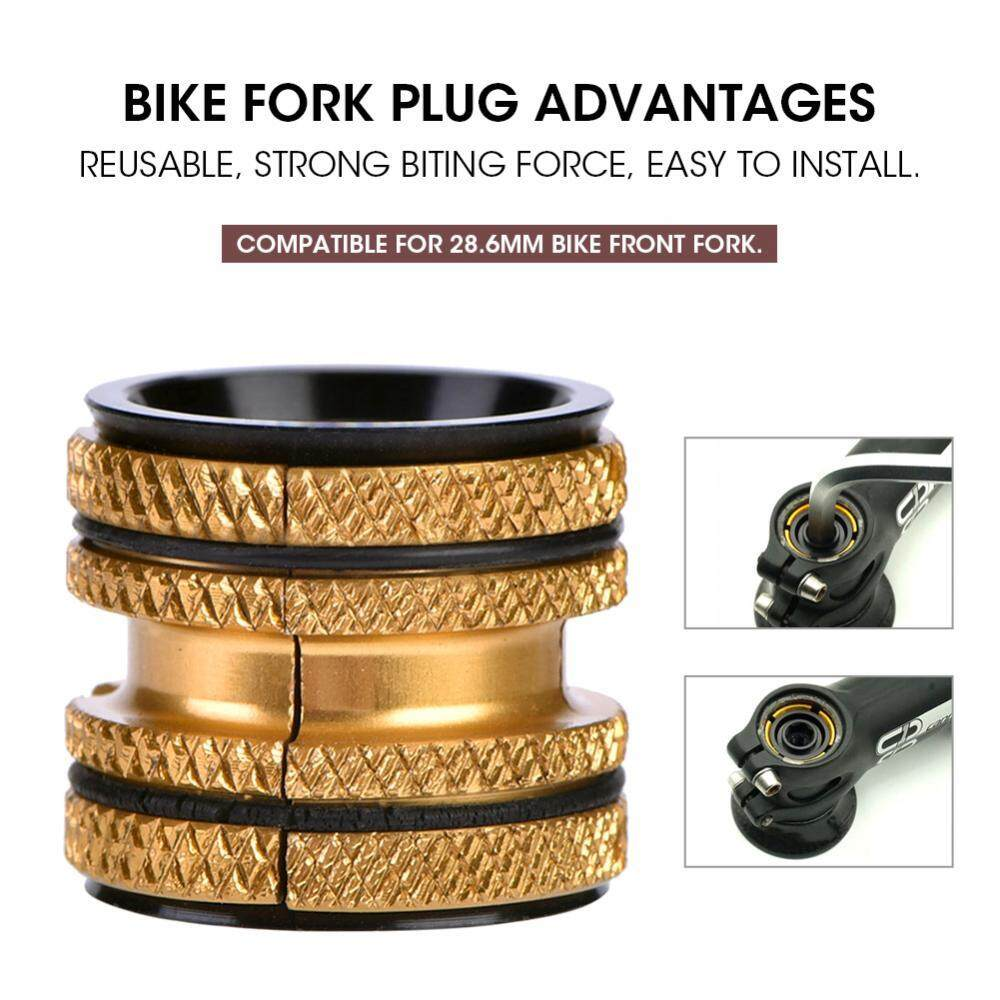 epayst Aluminum Alloy Bike Bicycle Headset Expanding Plug for 28.6mm Carbon Fork Parts