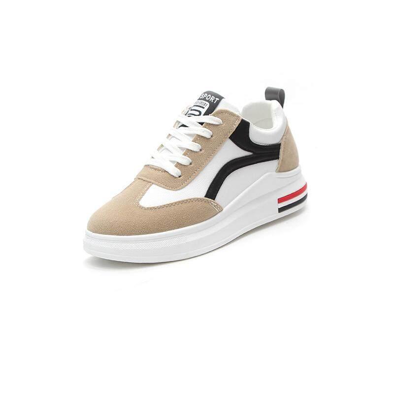 Bogo (Disambiguasi) Wanita Sepatu Fashion Sepatu Lari Dapat Benafas Sepatu Olahraga untuk Wanita Santai Berjalan Sepatu Lari Kasut Wanita-Intl
