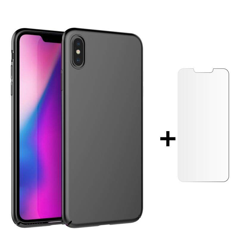 Moonmini Case for For iPhone Xs Max Case Ultra Thin Lightweight Full Protection Cover Hard PC