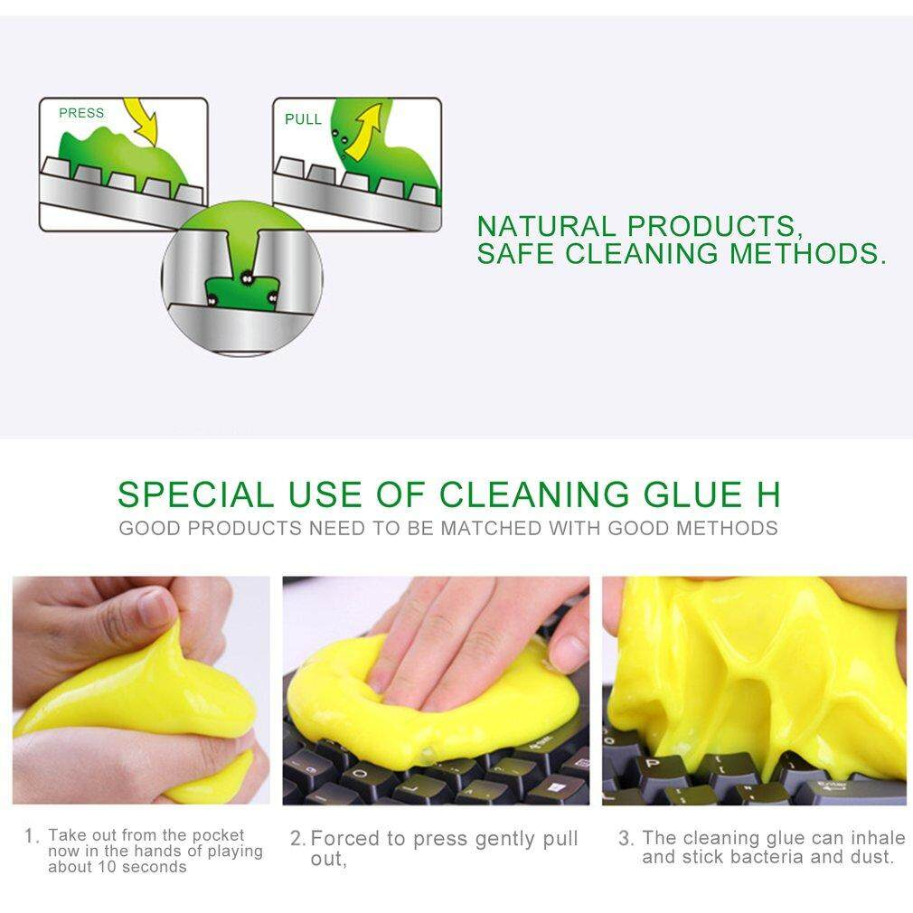 Lwentian Magic Innovative Super Soft Sticky Dust Cleaning Gel Gum Computer Car PC Laptop Keyboard Universal Dust Cleaner - intl