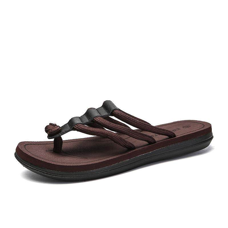 ac3658373a07ac Mens Footwear. 135 items found in Flip Flops   Sandals. Summer Outdoor  Casual Men Slippers Open-toed Sandals Slides Lace Up High Quality Beach  Shoes