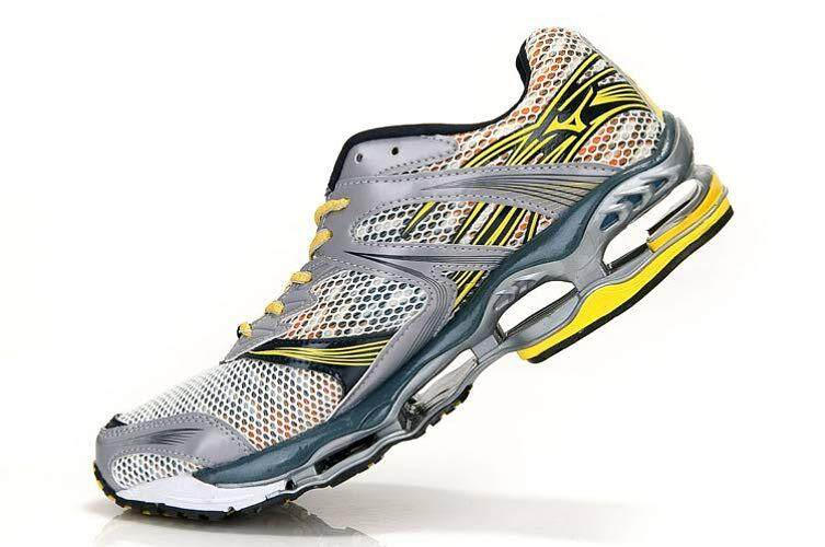 Asli Mizuno_Wave Ramalan 1 Sepatu Kasual Gelombang Ramalan 1 Pelatihan Berjalan Sneaker Pria Ukuran EU40-46 5 Warna