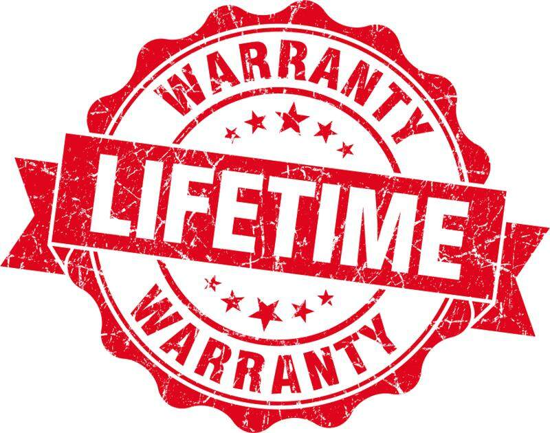 Lifetime Warranty for Watches