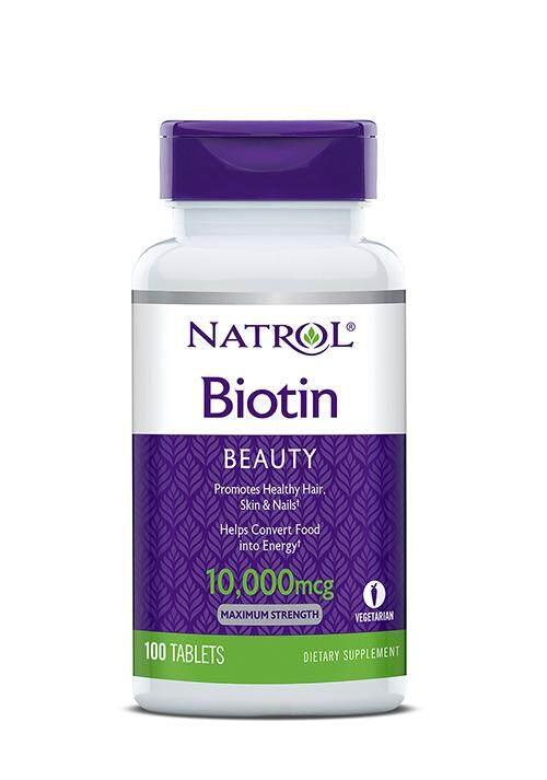Natrol Biotin 10,000mcg Beauty, 100's