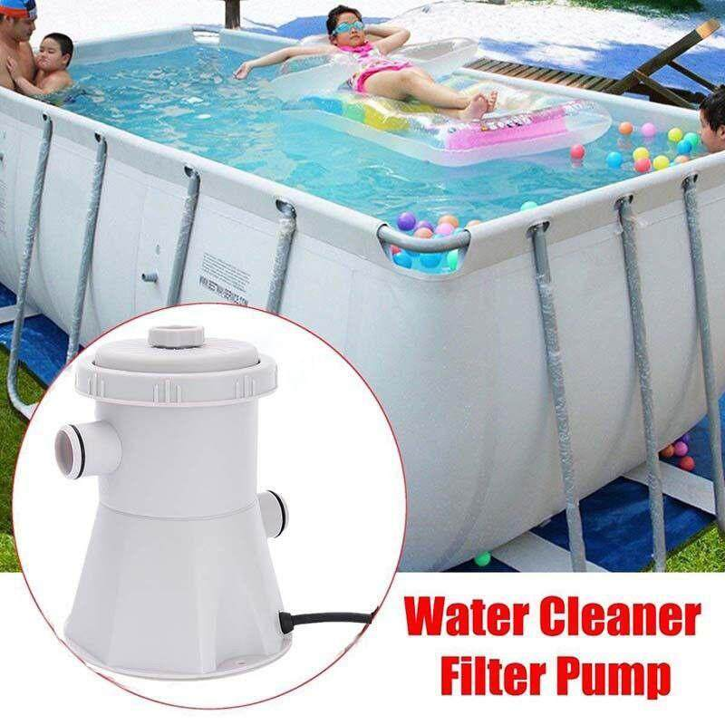 Yuchen [not Include Swimming Pool] 1 Set 220v Electric Swimming Pool Filter Pump For Above Ground Pools Water Cleaning Tool - Us Plug By Yuchen.