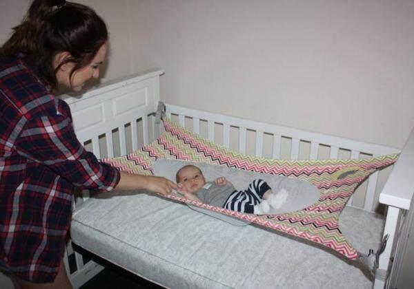 SUN HOME Increase breathable mesh foldable washable sleep comfort baby hammock BabyHammock