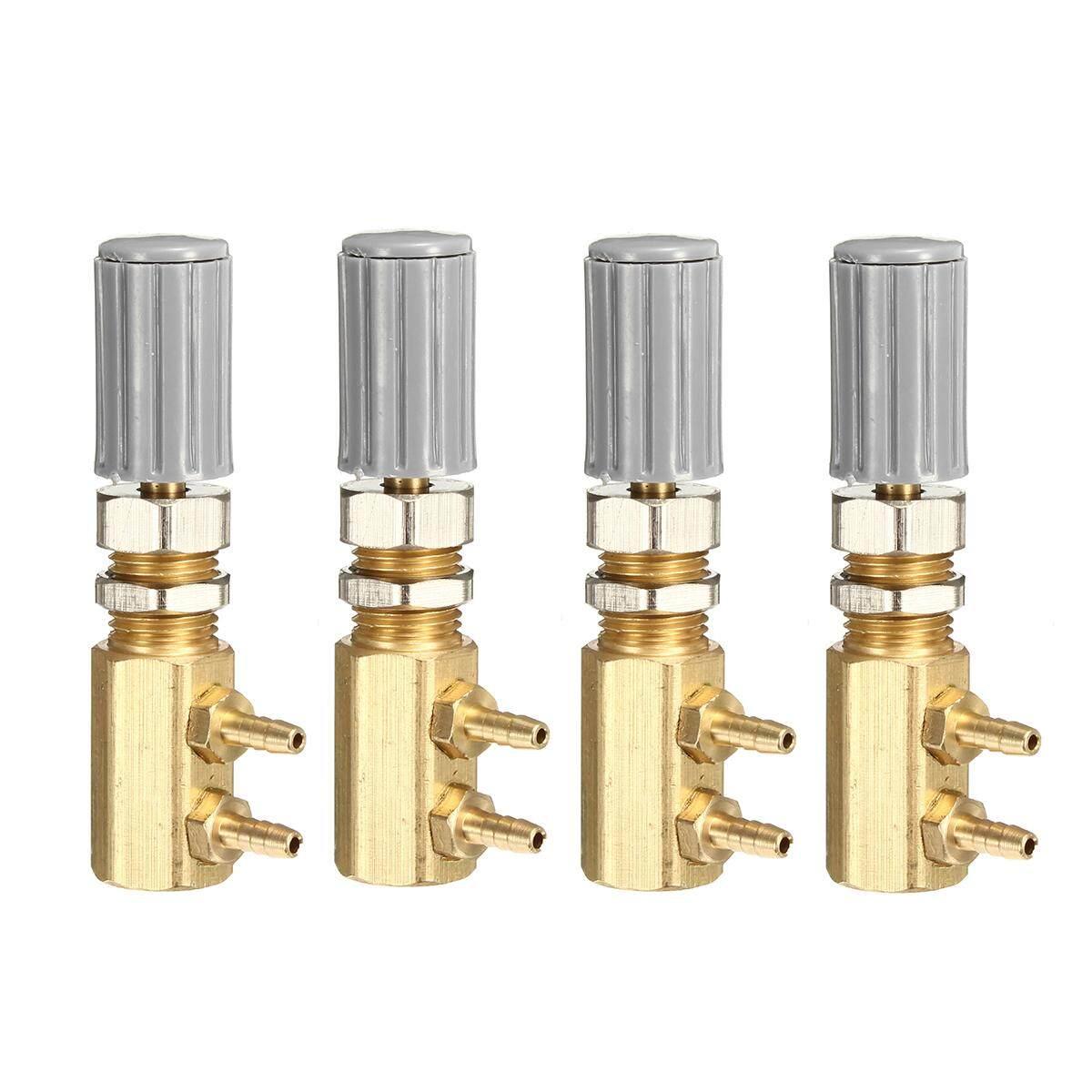 4Pcs 3mm Dental Regulator Control Valve for Dental Chair Turbine Unit Replacement