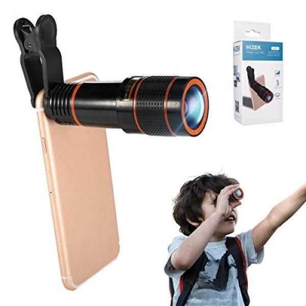 Ponsel Lensa Lampiran Telepon Lensa Kamera Kit hizek 12X Universal Optik Lensa Variabel Lensa Marco Fokus Teleskop dengan Klip dan Eyecups untuk iPhone 8/7/6 S/ 6/6 Plus/6 S PLUS Samsung Galaxy S8/S8 Plus/S7/S7e/S6/ s5/Note5-Intl