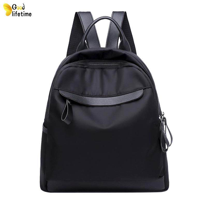 GLT Women Lady Girl Backpack Bag Waterproof Casual Large Capacity For Student Travel