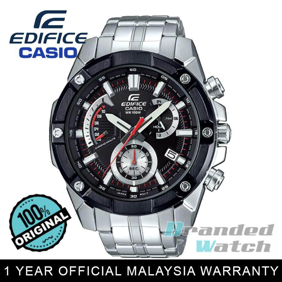 Casio Edifice Watches Price In Malaysia Best Efr 519d 7avdr Jam Tangan Pria Stainless Steel White Official Warranty 559db 1a Mens Big Bulky Chronograph