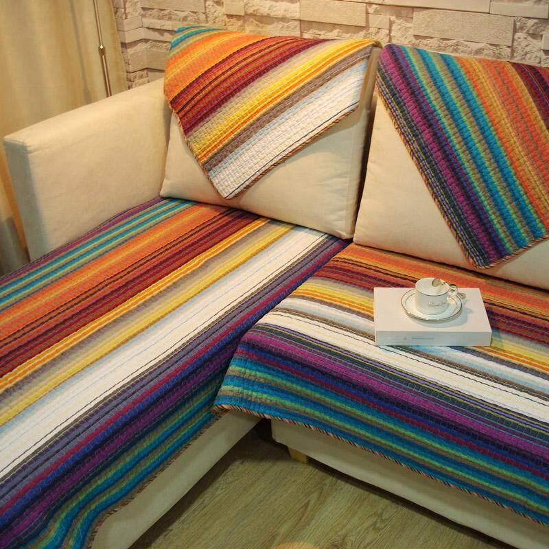 monet river Mediterranean-style Sofa Cushion