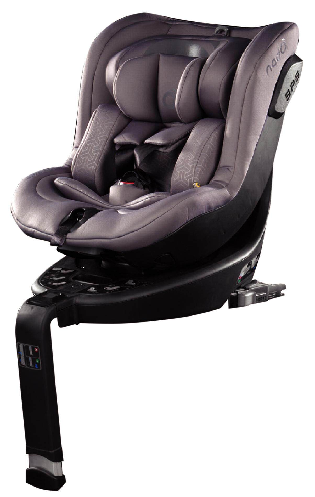 Nado o3 Car Seat Litography Black
