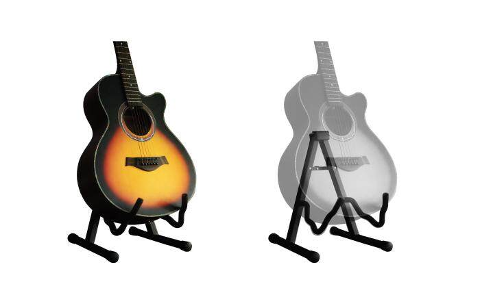 USE VOUCHER 10% OFF] BLW Guitar A Frame Folding Guitar Stand for ...