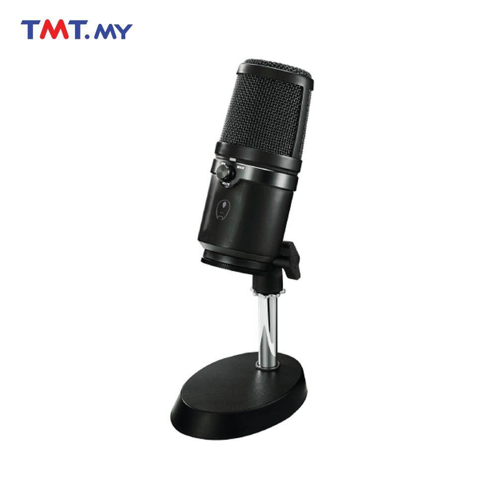 AVF Gaming Freak CHANTER USB Desktop Microphone - Black Malaysia