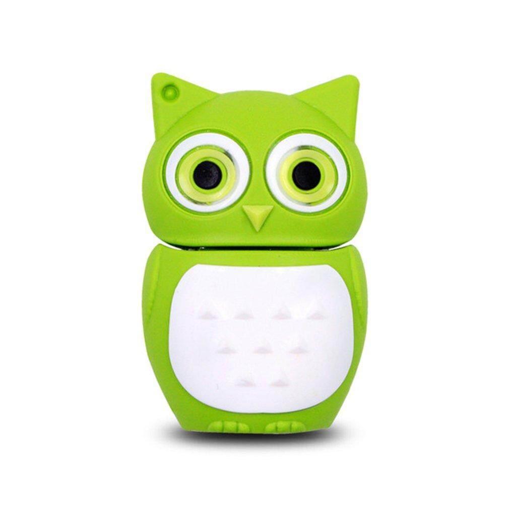 Hot Penjualan Burung Hantu Yang Indah USB2.0 Flash Drive Stick Memory Flashdisk U Disk untuk Laptop