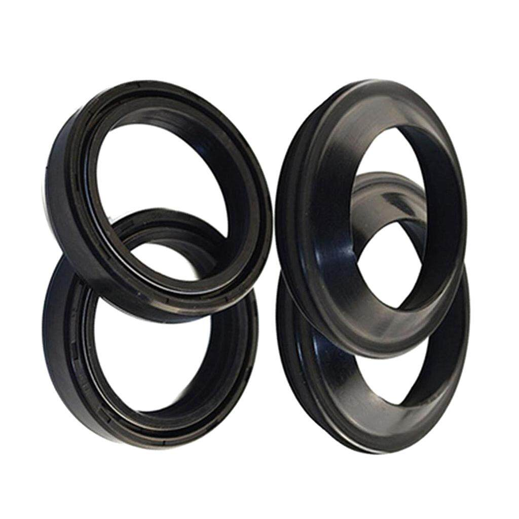 Miracle Shining Motorcycle Front Fork Oil Dust Seals Kit Set 41mm x 54mm x  11mm