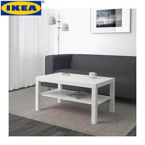 IKEA LACK White Coffee Table (90x55 Cm)