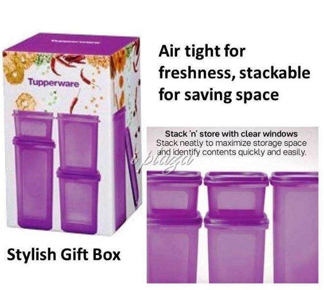 Tupperware Smart Saver Oval Set with Gift Box