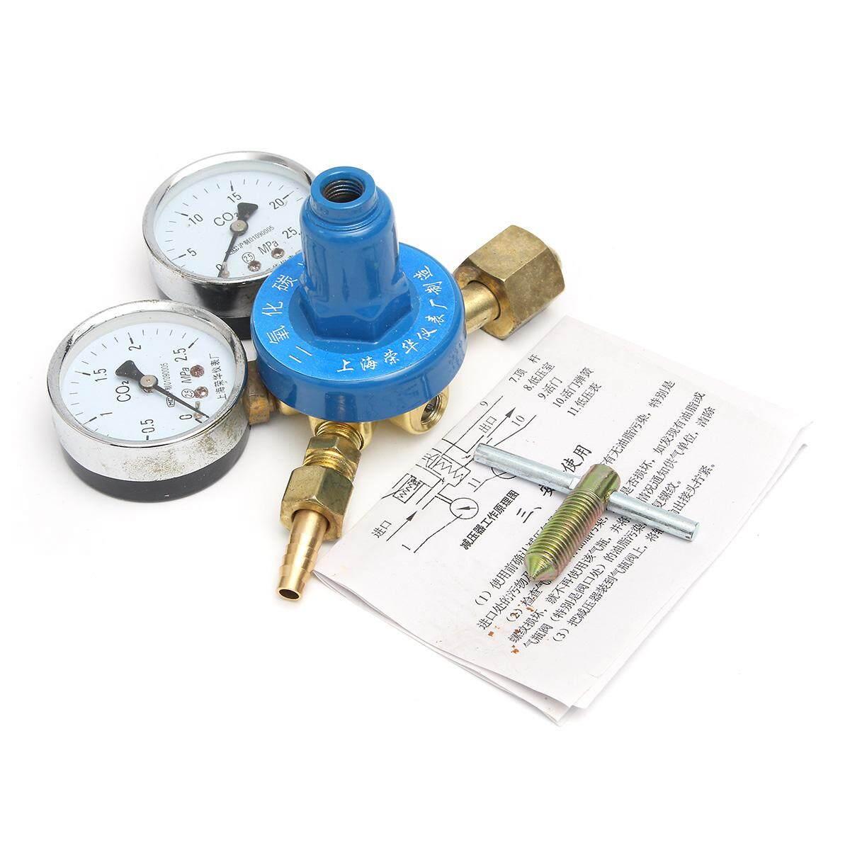 15mpa Co2 ทองเหลือง Mig Welding Regulator G5/8 สำหรับผับขวดแก๊สหญิงด้าย By Moonbeam.