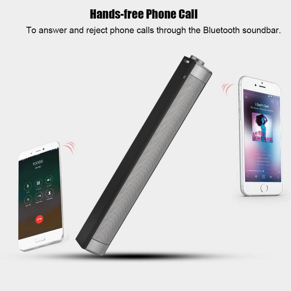 Wireless Sound Bars Hi-Fi Heavy Bass Bluetooth Soundbar Noise Cancelling AUX/TF Card