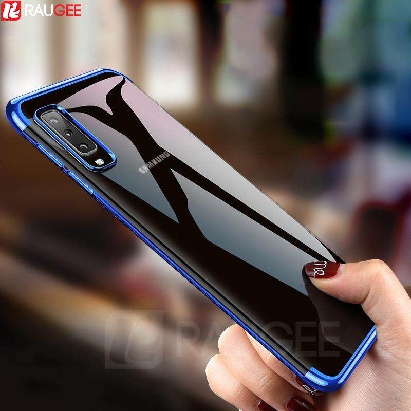 Luxury Ultra thin Transparent Case For Samsung Galaxy A7 2018