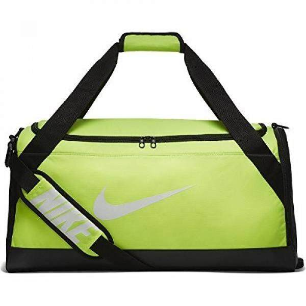 e51af4db33 Nike Mens NK BRSLA M DUFF BA5334-702 - Volt Black White -