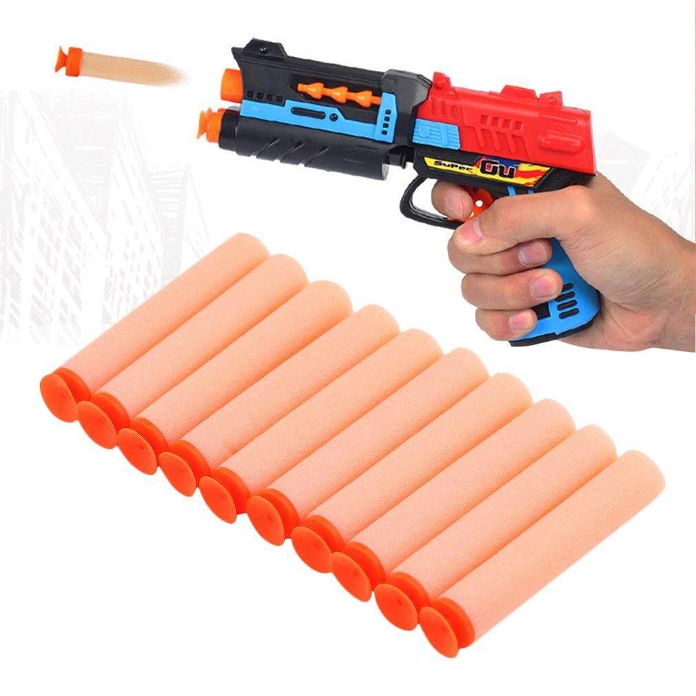 Hình ảnh ERA 10 pcs Eva Soft Safety bullets Blaster for Nerf toy bullets flexible Orange - intl
