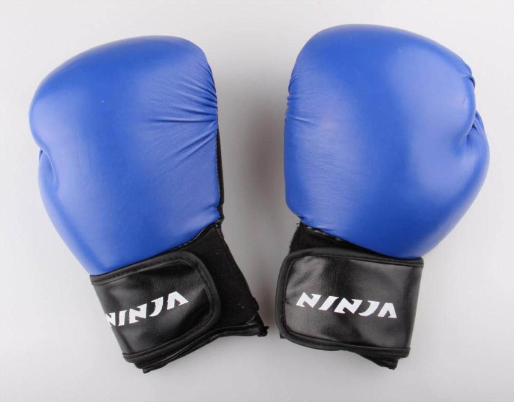 Ekstensi Pergelangan Tangan Kulit Muay Thai Latihan Meninju Tas Setengah Mitt Sarung Tinju Gulat 6306