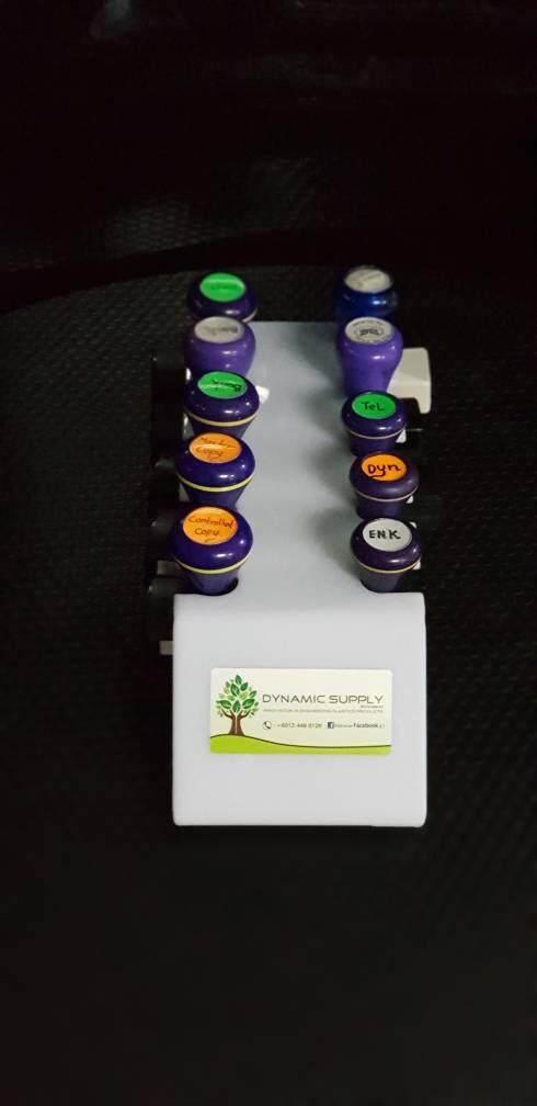 Rubber Stamp Rack Holder