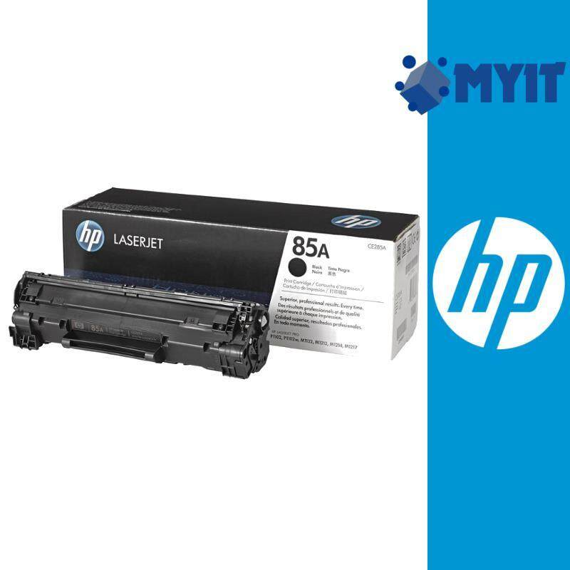 HP Original 85A Monochrome Black Cartridge Mono Laser Toner CE285A for Laserjet P1102  P1102w  M1132 M1212 M1214 M1217