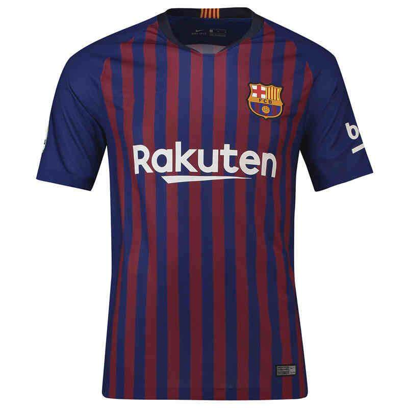 ec88202e9 1819 Best Quality Barcelona HOME AWAY TNIRD Soccer Jersey Football Jersey -intl