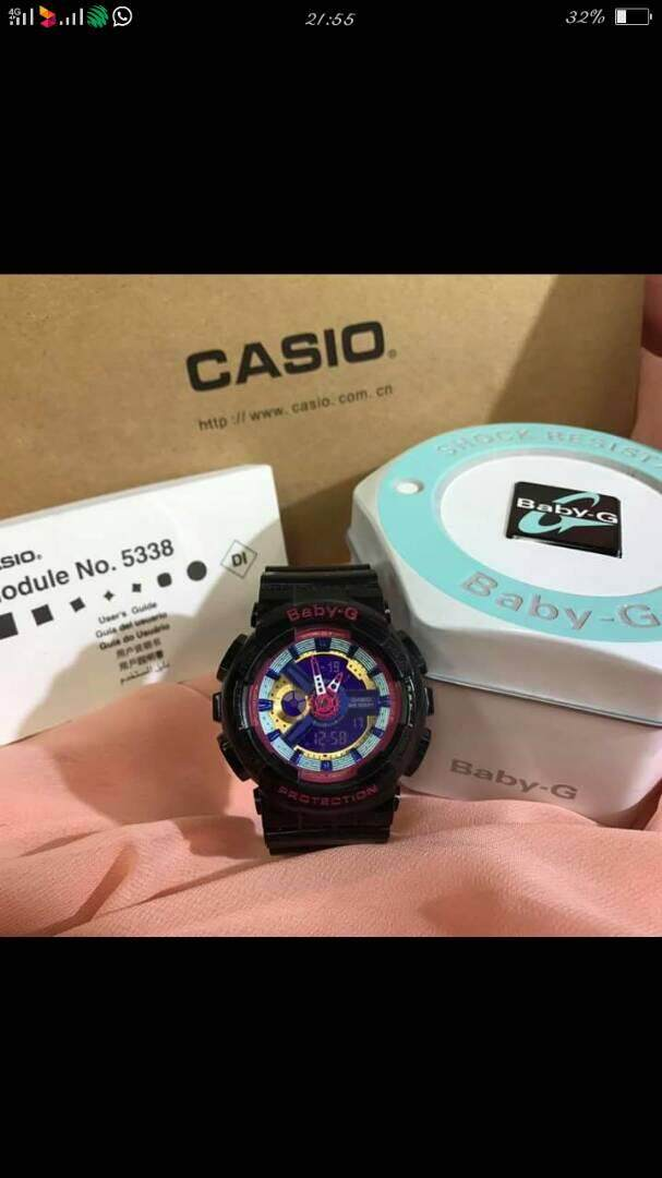 Baby G watch 2018 Promotion