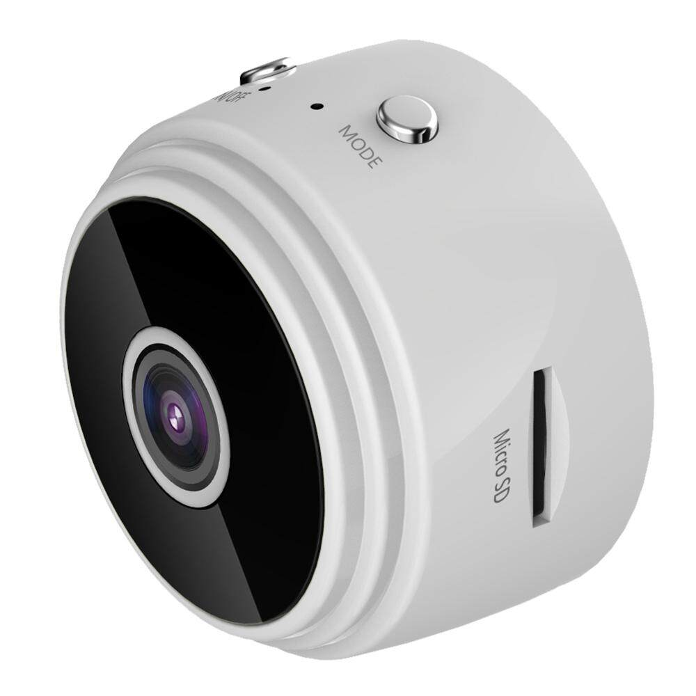 【Flash deal】Mini Spy Camera WiFi HD 1080P 150° Wide-Angle Lens Night Vision  Motion Detection Portable Nanny Hidden Cameras with 360° Magnetic Bracket