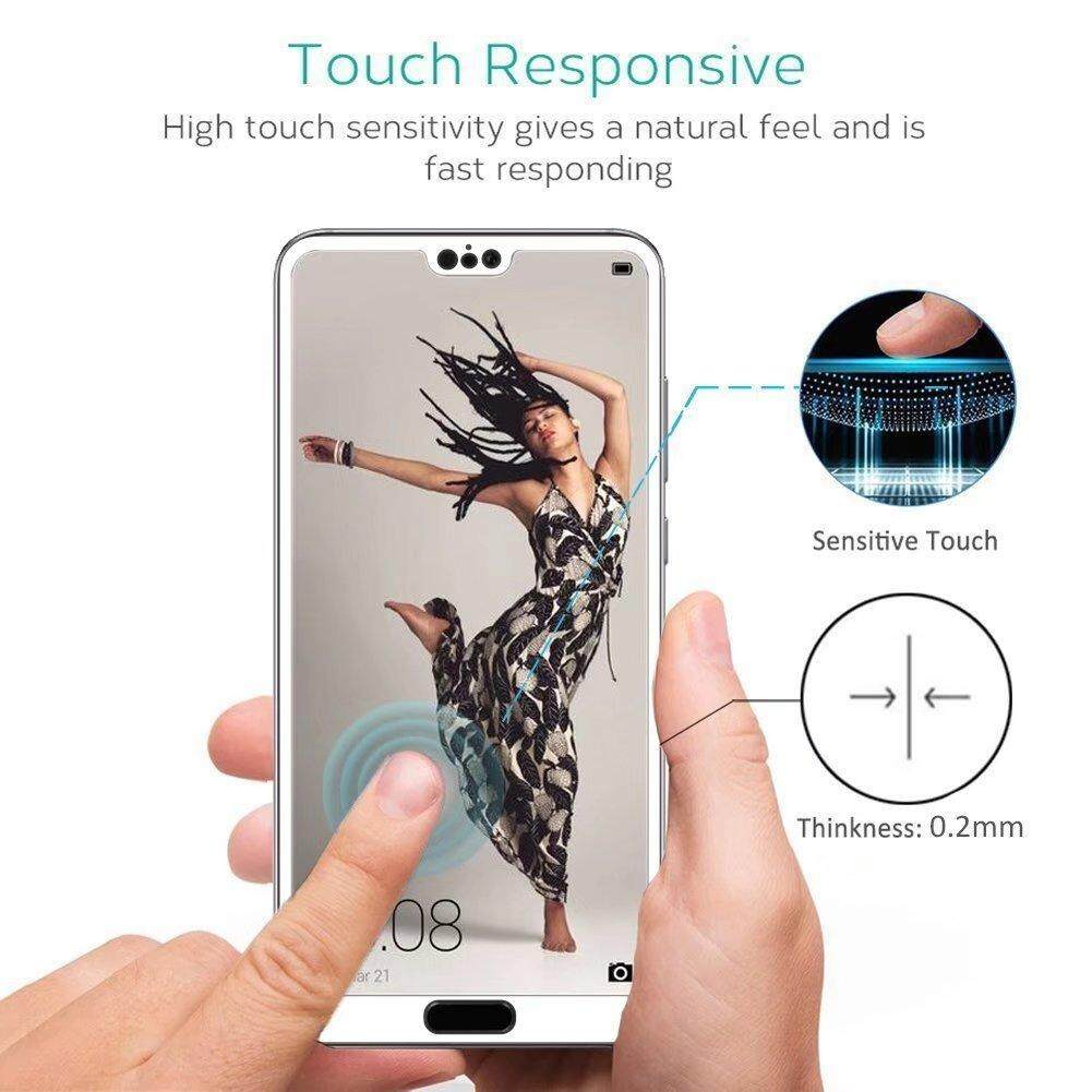 Fitur 3d Full Cover Tempered Glass Screen Protector Film For Huawei Motorola Moto G5s Plus Black Dan Gold P20 Lite Nova 3e