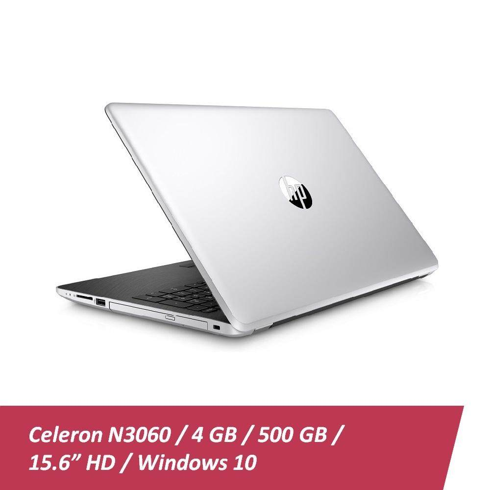 HP 15-bs098TU Laptop (Celeron N3060, 4GBD3, 500GB, 15.6, Win10) - Natural Silver + HP x3000 Wireless Mouse + Car Sunshade Malaysia