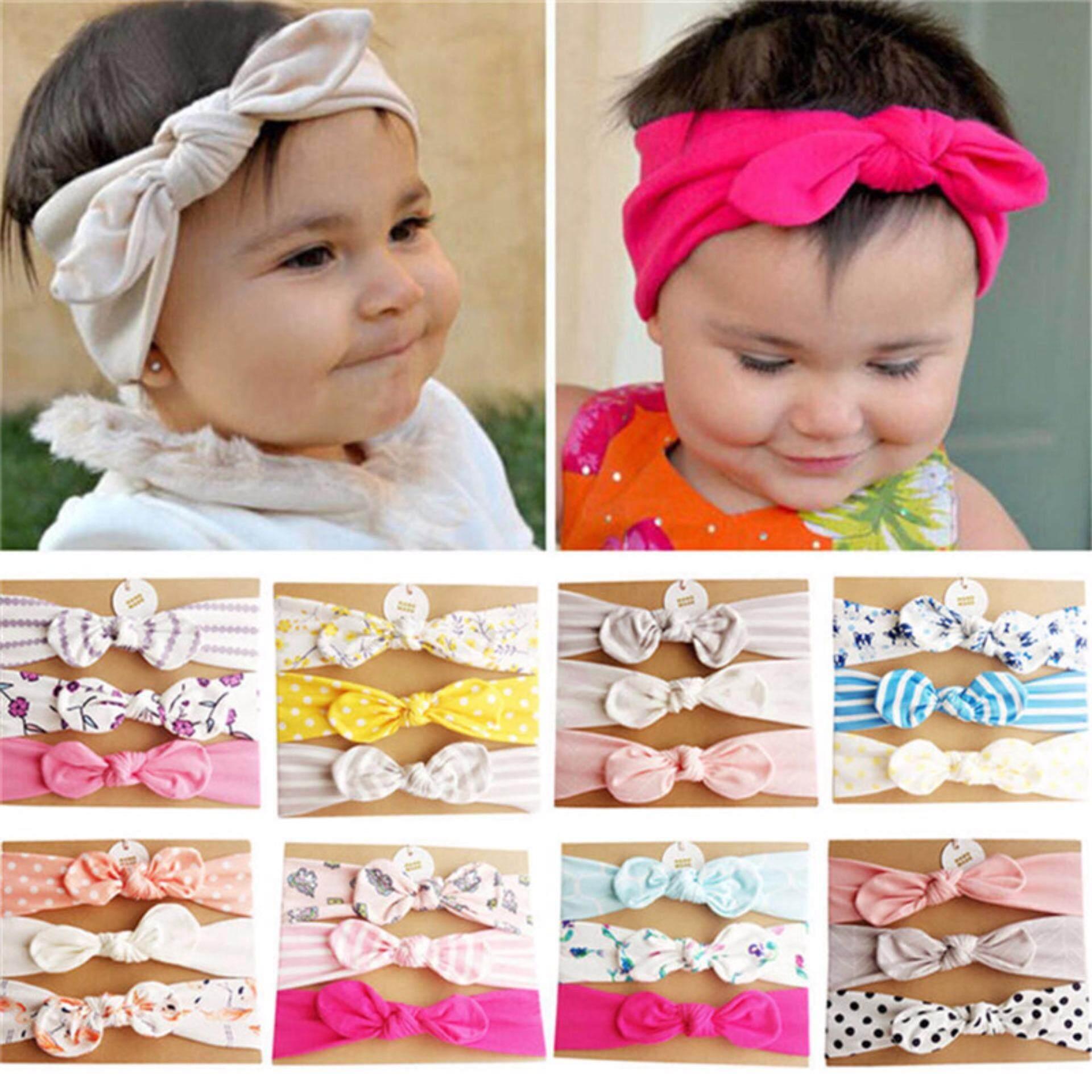 5a816f3e15f 3pcs/Set Kids Girls Baby Headband Unicorn Mermaid Flower Hair Band 2018 New  A1