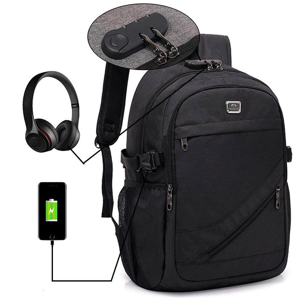 29b1b0554dad Treeone Business Anti Theft Backpacks with USB Charging Port and Headphone  Port