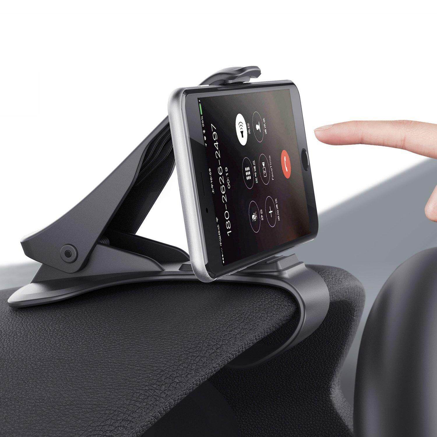 Car Phone Holder. 2 in 1 Car Mount and App to Upgrade Your Phone to