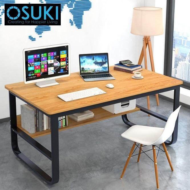 OSUKI Solid Frame 120 x 60cm Home Office Table