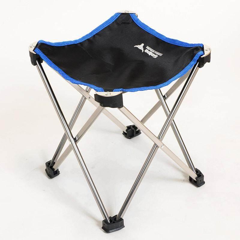 Kursi Lipat Luar Ruangan Kursi Portabel Kursi Malas Ultra Ringan Penerbangan Aluminium Aloi Kuda Ditarik Bangku