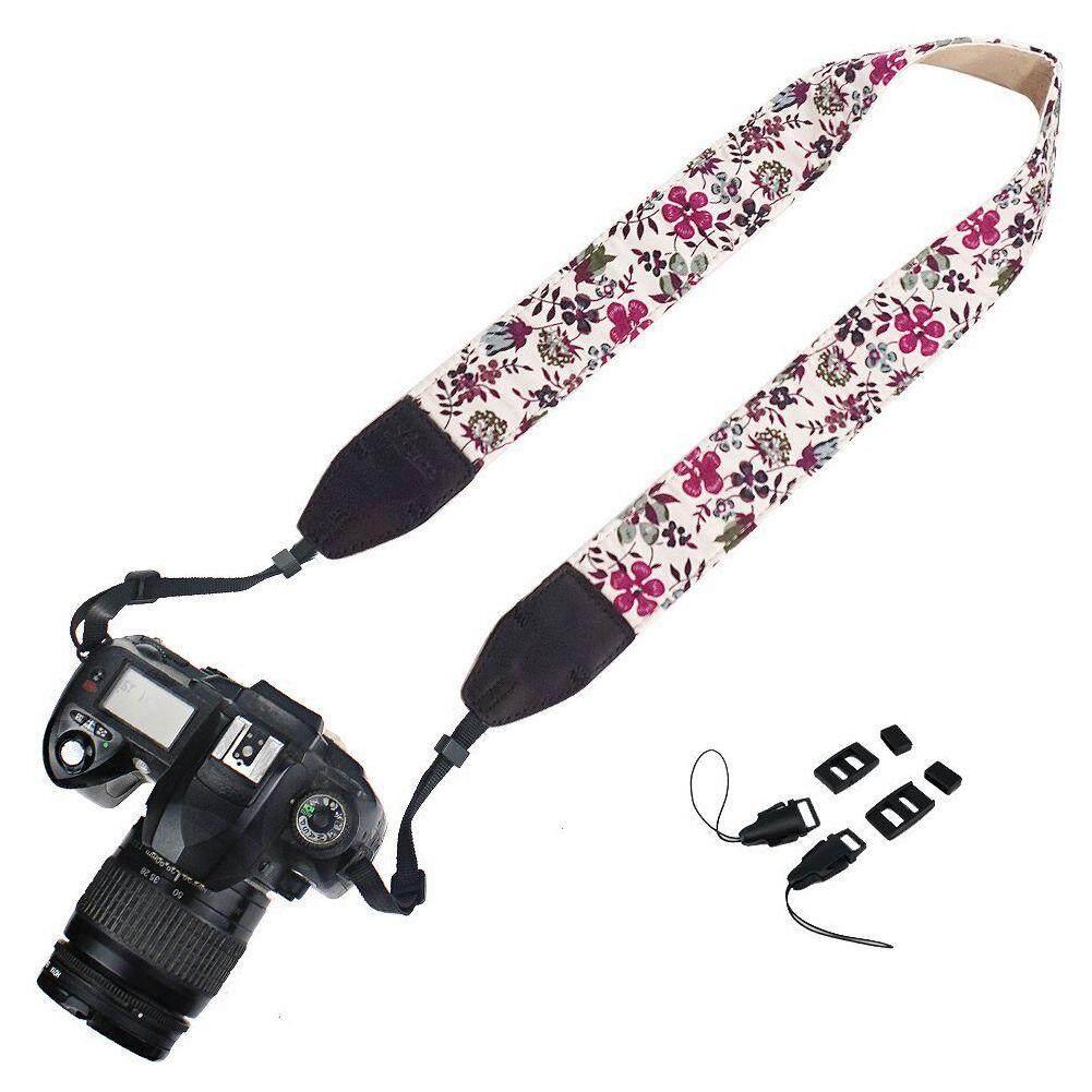 Kamera Tali Selempang Bahu dan Leher Sabuk untuk Nikon/Canon/Sony/OLYMPUS/