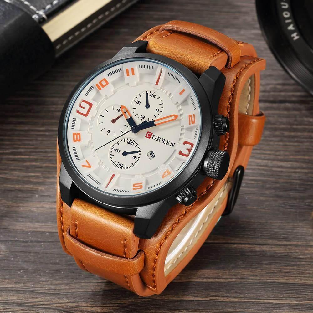 Nơi bán CURREN Đồng hồ đeo tay hoàn toàn mới nam thương hiệu cao cấp hàng đầu đồng hồ nam đồng hồ đeo tay nam đồng hồ quân đội đồng hồ dây da đồng hồ quartz doanh nhân đồng hồ quà tặng 8225