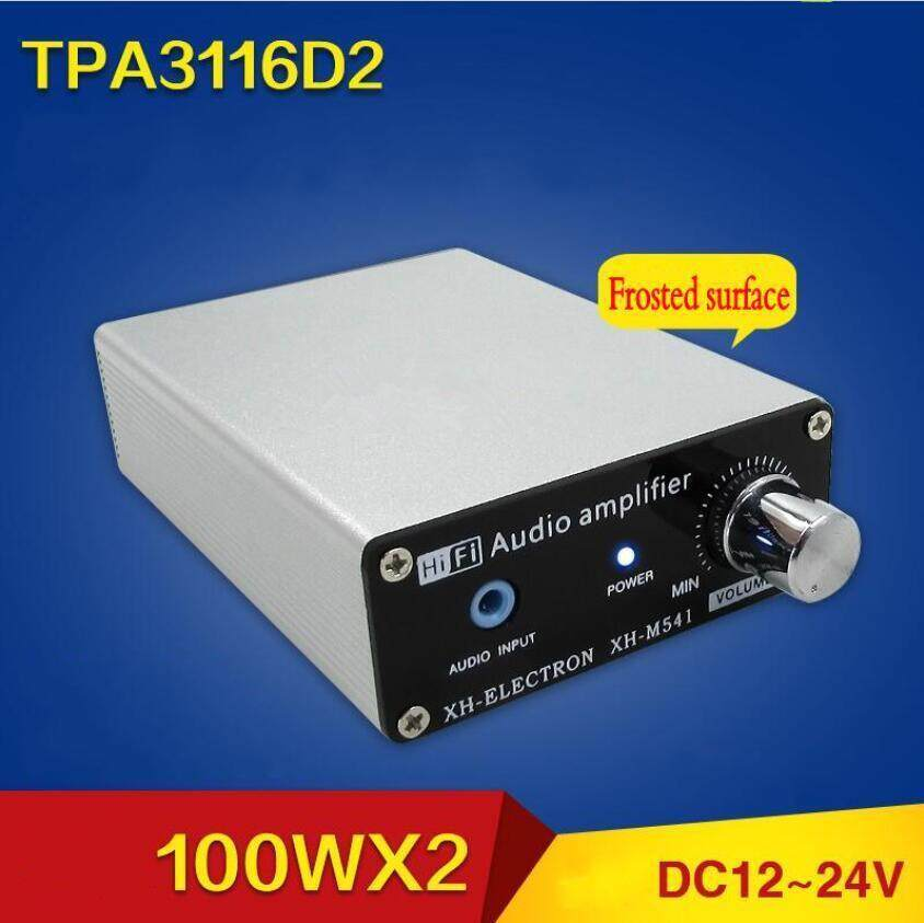 3 Pcs TPA3116D2 100 W + 100 W Dual Channel Hi Fi Subwoofer Digital Penguat Daya