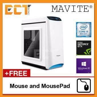 (2018 Latest) Mavite S1 Exclusive Forge Budget Gaming Desktop PC (i5-8400,GTX1060-3G,1TB,8GB,W10P)