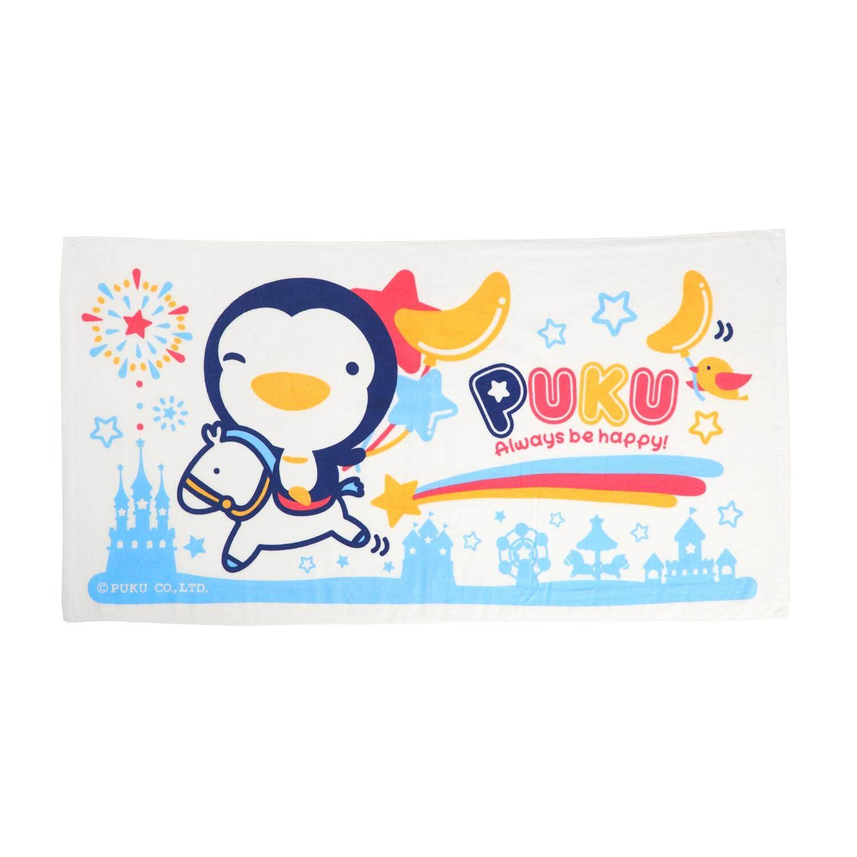 Puku Baby Bath Towel 114*60cm (Blue)