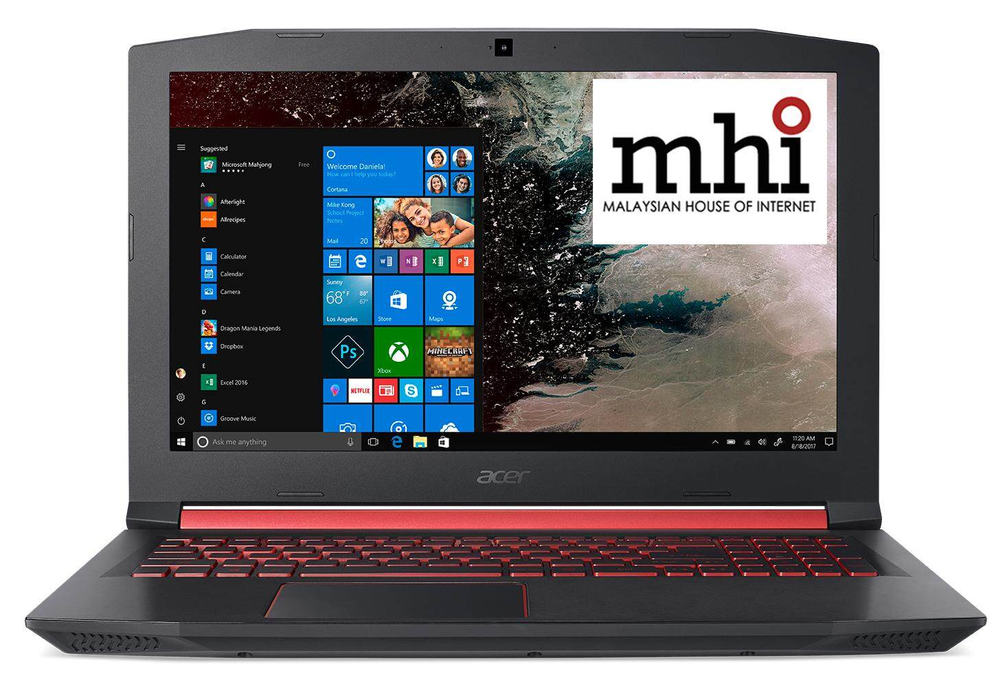 Malaysian House Of Internet New Arrival Acer Supercare Extended Warranty Super 2 Nitro 5 An515 52 78as 156 Fhd Ips Laptop Black Red